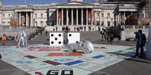 London News Roundup: Giant Monopoly Board In Trafalgar Square