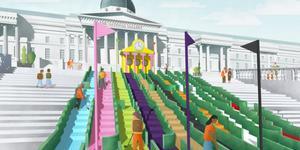 Help Turn Trafalgar Square Into A Crazy Golf Course