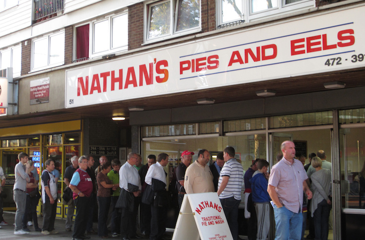 Nathan's Pie and Eels