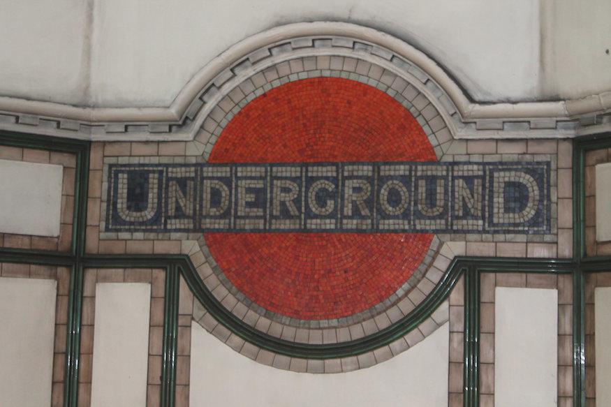 London's Unusual Tube Roundels