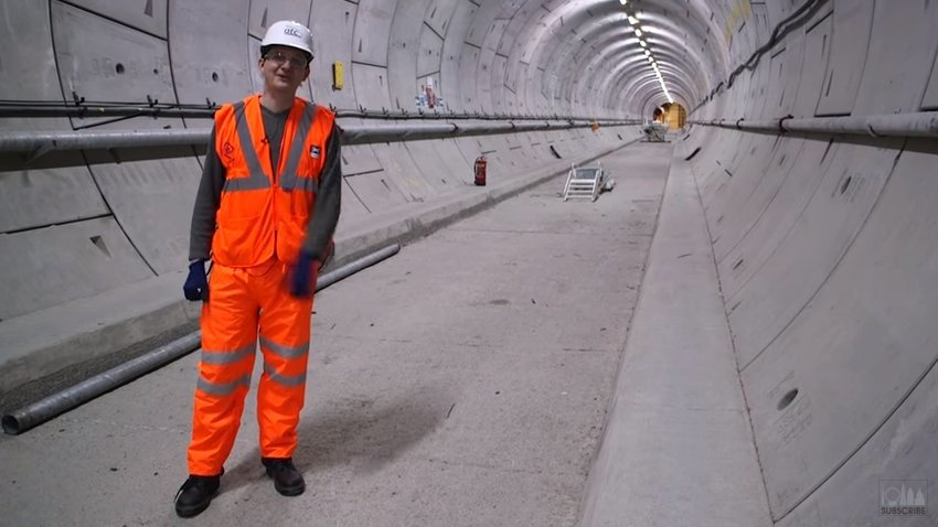Video: What's Happening In Crossrail's Tunnels Right Now?