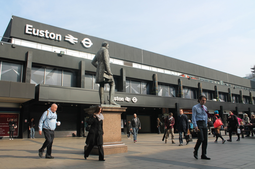 Was Euston station the biggest railway crime of all? We visit before the developers move in