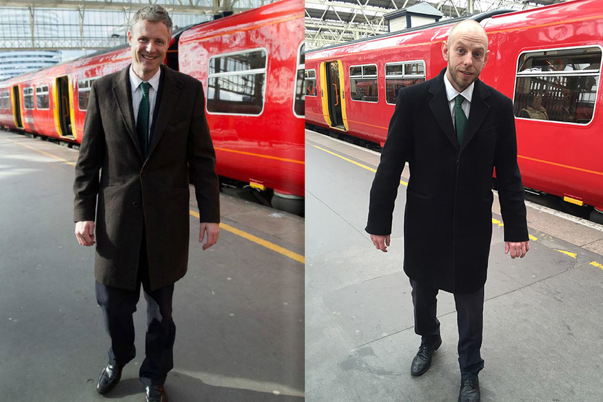 We Replicate Zac's Day Out On A Train