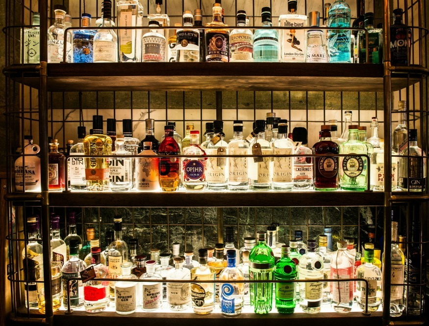 Londons Largest Gin Bar Opens This Week