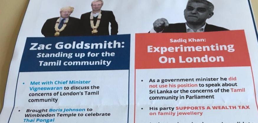Outrage Mounts Against Zac Goldsmith's Racial Profiling Tactics