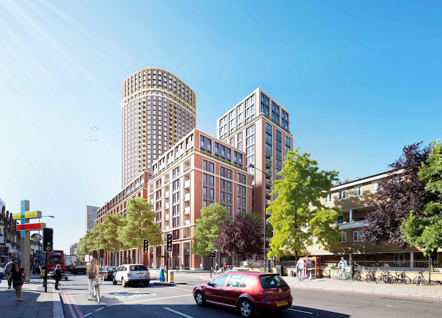 Curvy Tower Block Approved For Paddington
