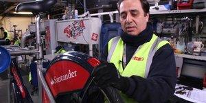 Video: Where Do Boris Bikes Go To Get Fixed?