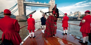 Huge Thames Flotilla To Honour Queen's 90th