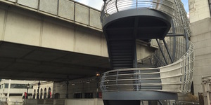 London Bridge Is Building Up, As New Stairway Opens