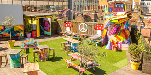 There's A Psychedelic Party On A Shoreditch Rooftop, And You're Invited