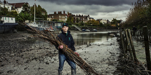 Photographs Of The River People Of The Thames