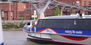 Video: What's It Like Taking An MBNA Thames Clipper?