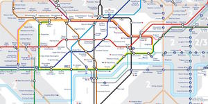 Exclusive: A First Look At The New 2016 Tube Map