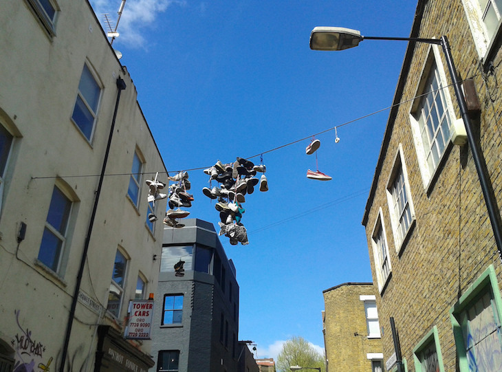 Have You Seen The Shoe Trees Of Brick Lane?
