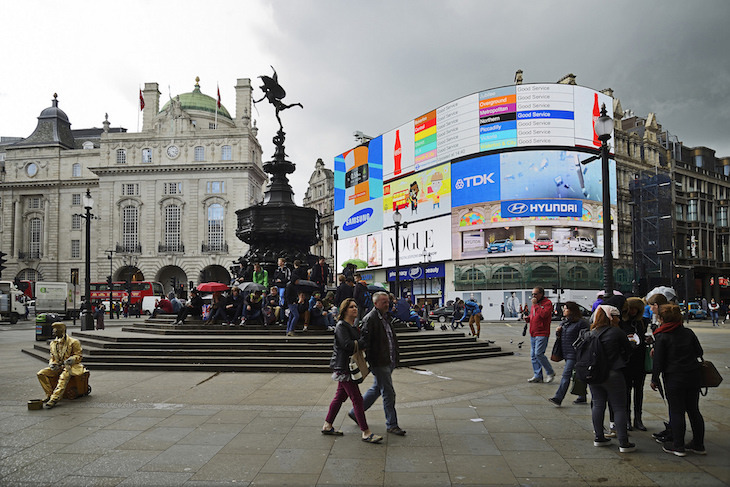 piccadilly circus - Photo