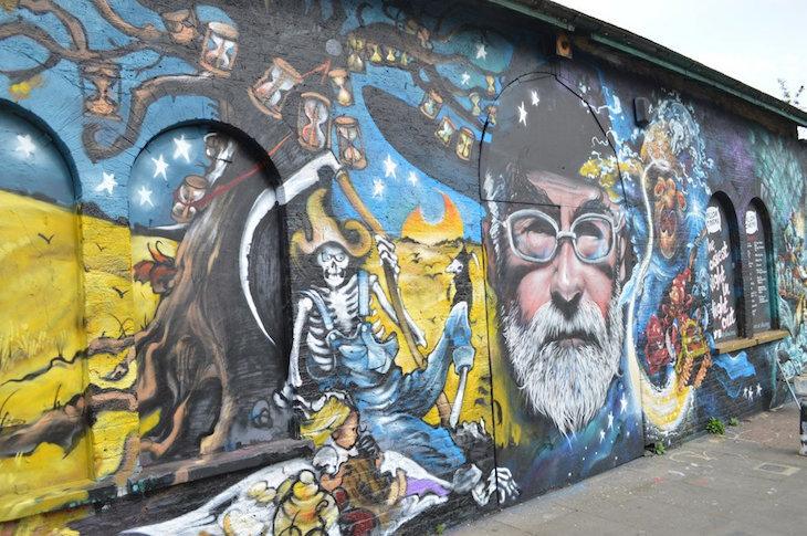 When Dead Celebrities Come Back As Street Art