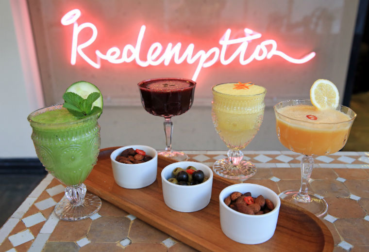 The best, little-known and secret vegetarian and vegan restaurants, bars and cafes in London: Redemption