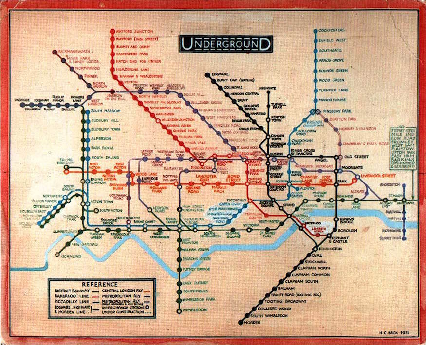 Official Ny Subway Map.The History Of The Tube Map Londonist