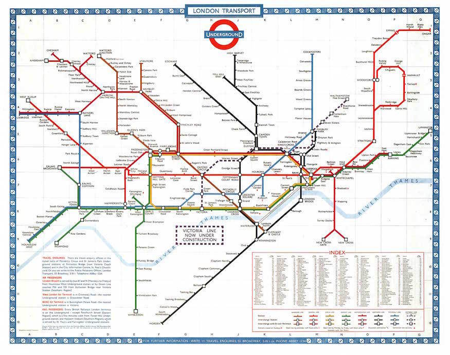 1980 Diamonds Jubilee Subway Map.The History Of The Tube Map Londonist