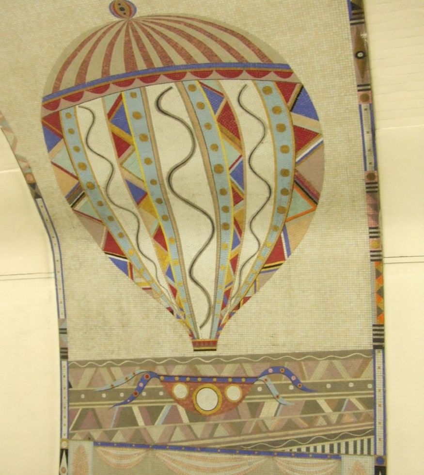 Why Are There Hot Air Balloon Mosaics At Finsbury Park