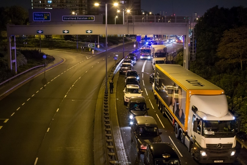 Travel Chaos Hits Thousands As Blackwall Tunnel Closed