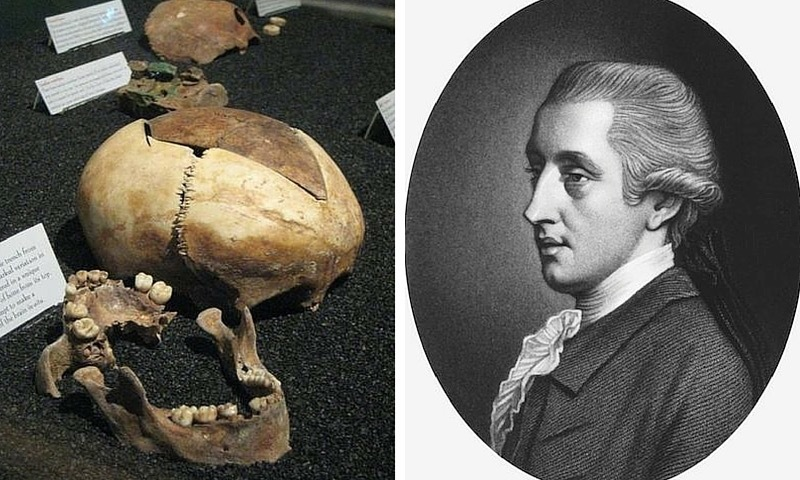 The Founding Father With 1,200 Human Bones In His Basement