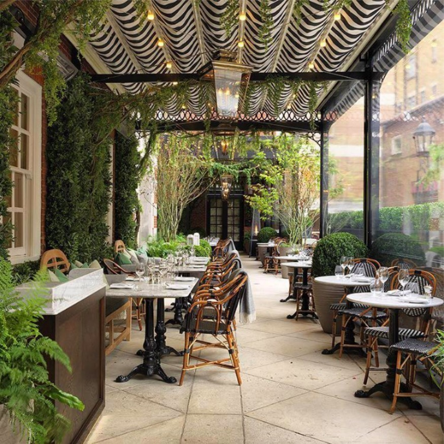London s best restaurants for al fresco dining londonist for In the terrace
