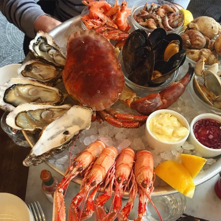 London S Best Seafood Restaurants