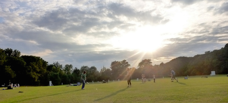Highbury Fields is one of the few places you can enjoy a barbecue in London's parks.