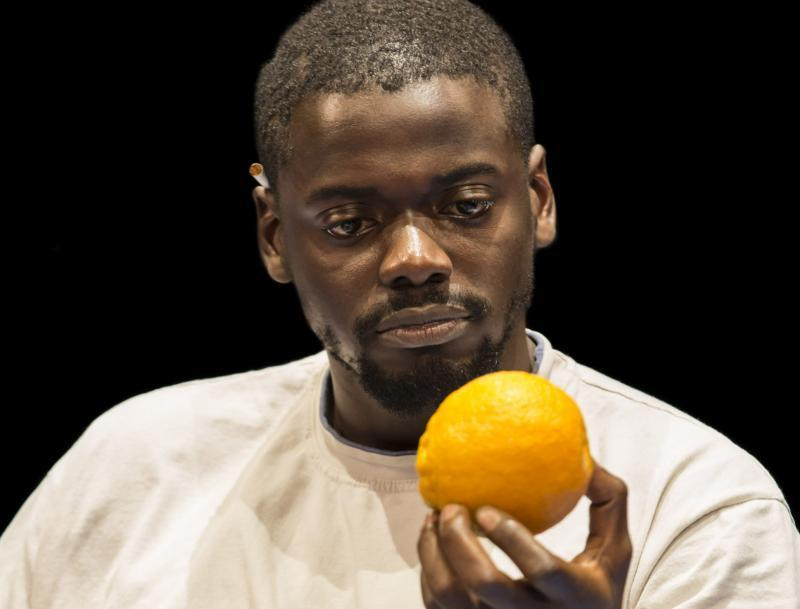 Orange is not the only colour: Daniel Kaluuya in Blue/Orange. Image:Johan Persson