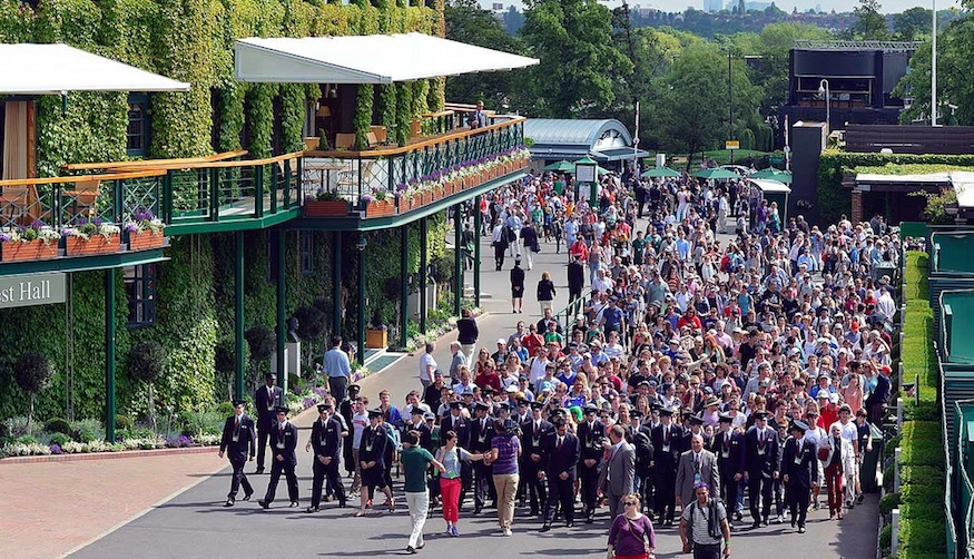 How to queue for on the day tickets to Wimbledon Tennis Tournament