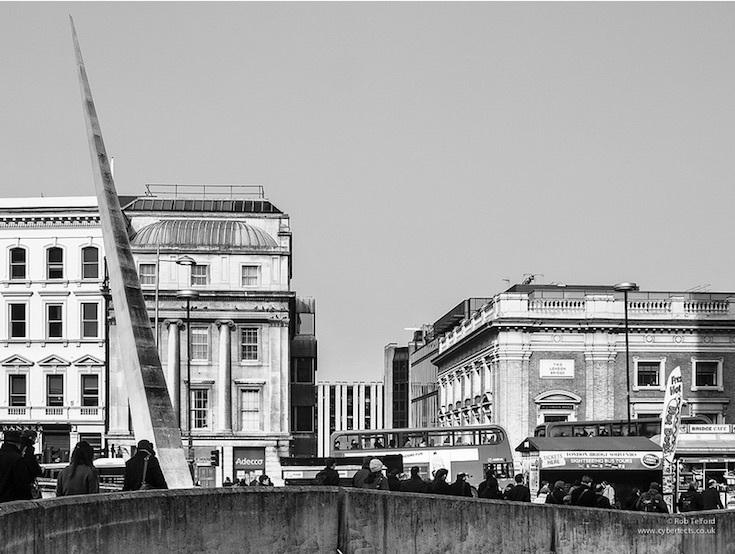 London bridge spike