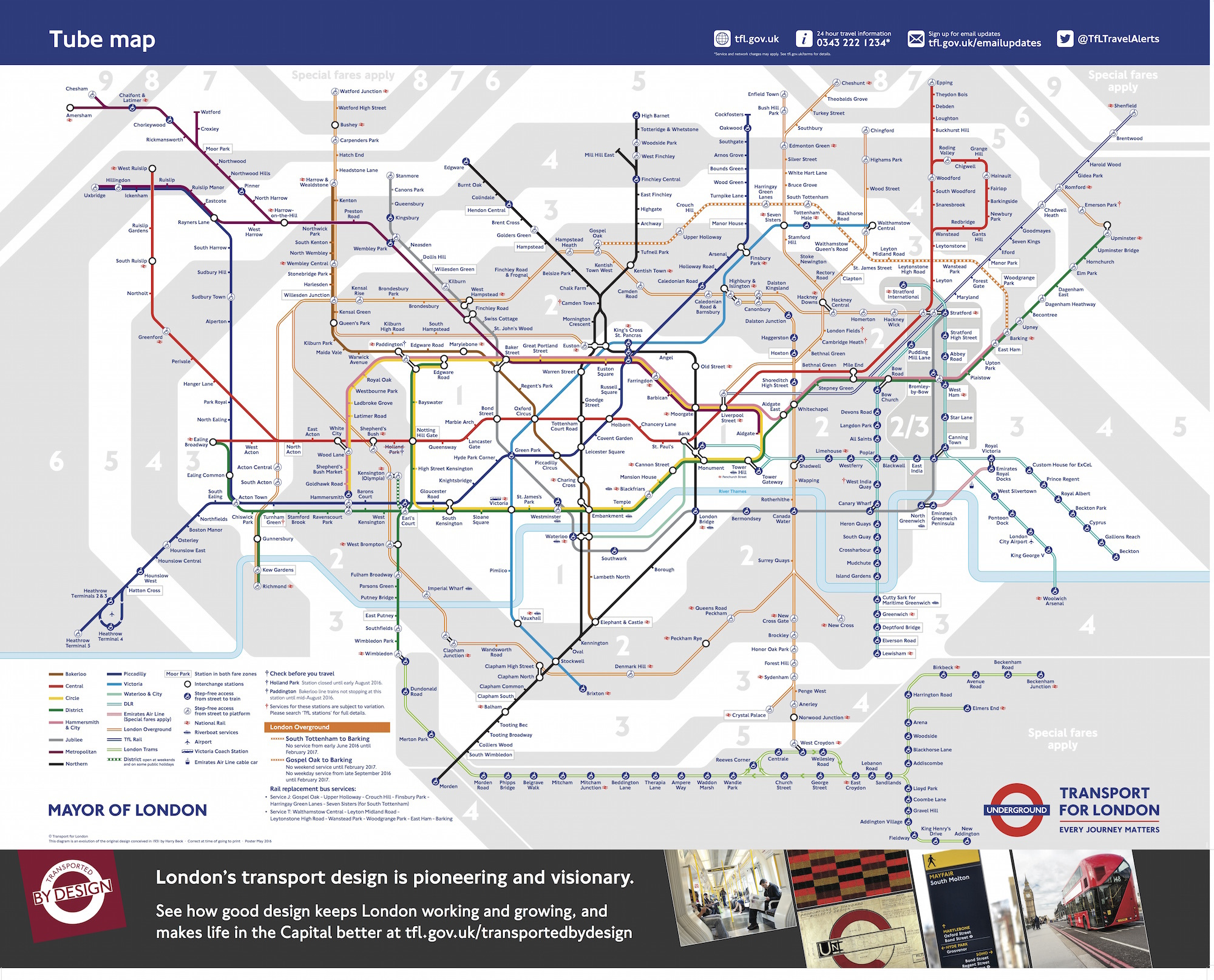 New Tube Map Exclusive: A First Look At The New 2016 Tube Map | Londonist