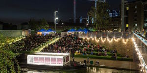 Floating Cinema Returns To London's Waterways
