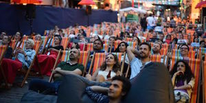 Prince, Bob Marley And The Beatles Celebrated At Backyard Cinema