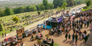 Drink In Amazing Views (And Booze) At London's Biggest Beer Garden