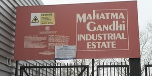 Why Is There A Mahatma Gandhi Industrial Estate In South London?