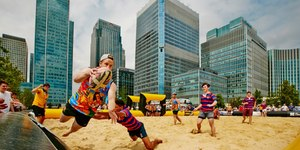 Beach Rugby Is Coming To Central London
