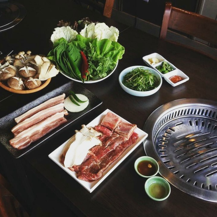 What do you think about Korean food in London?