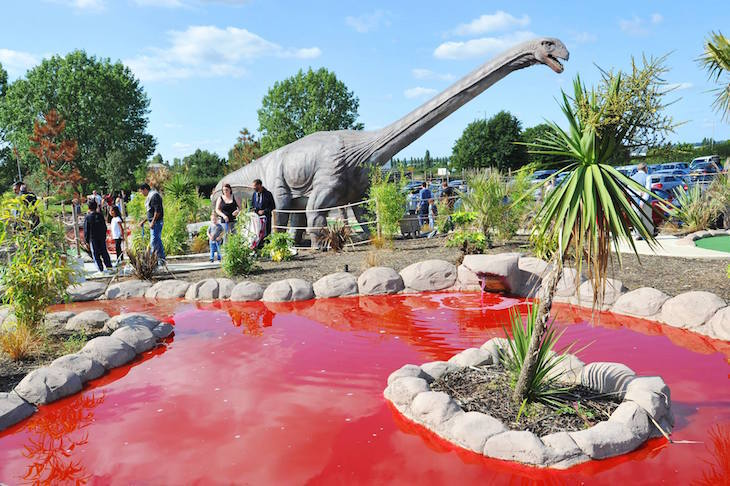 Where To Play Crazy Golf In London