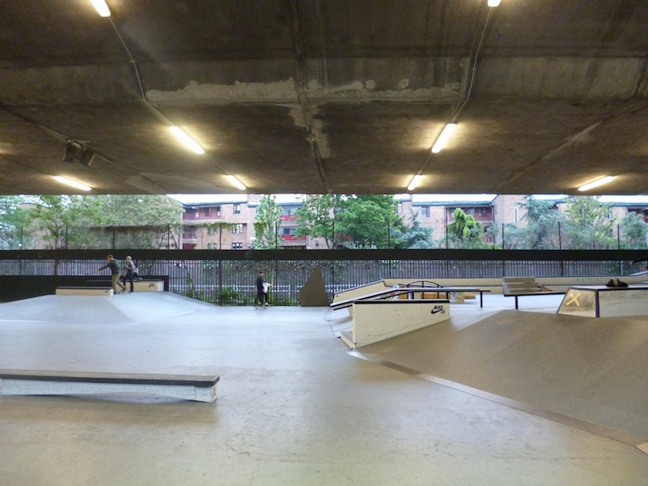 What's Really Happening Alongside The Westway?