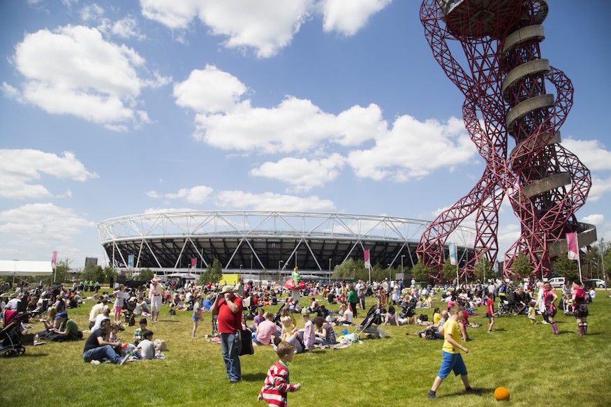 Get Into The Season At Queen Elizabeth Olympic Park This Weekend