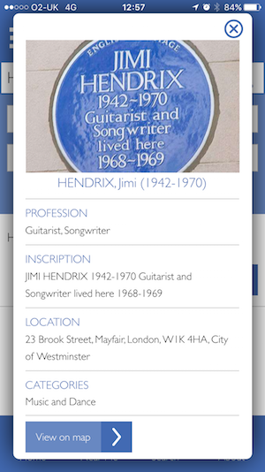 English Heritage Launches New Blue Plaque App | Londonist
