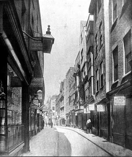 Long before Soho, this street was where Londoners went to buy their porn