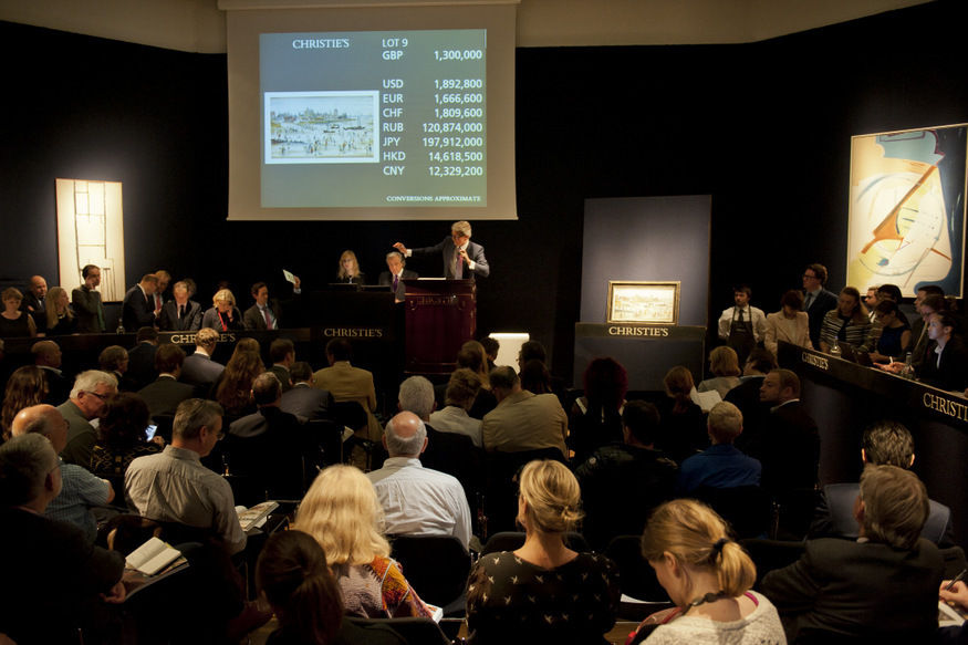 What's It Like Bidding At Christie's?
