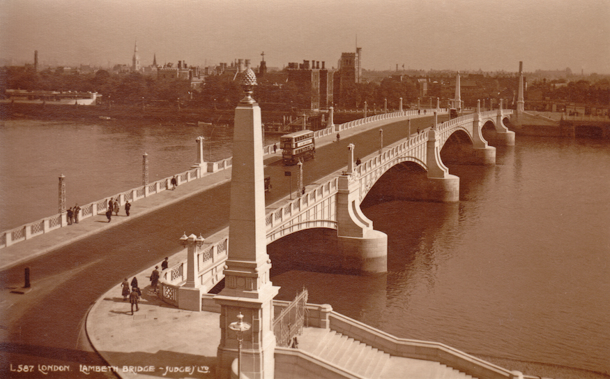See Postcards Of London From 100 Years Ago
