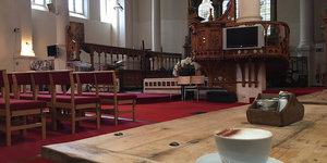 Ever been to this church-cafe in Bloomsbury?
