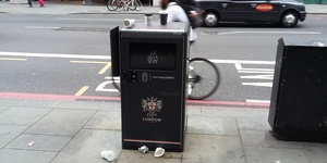 How Many Bins Are There In The City Of London?