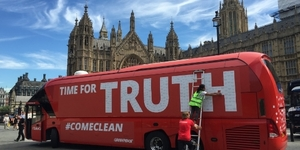 Greenpeace Has Rebranded The Brexit Bus