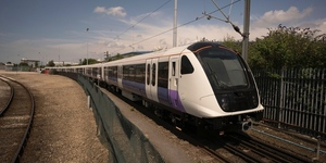 First Crossrail Train Gets A Test Drive... In Derby